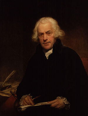 Thomas Sandby - Portrait of Thomas Sandby by Sir William Beechey