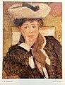 Thomas William Marshall - Portrait de Mlle D (1906) - Salon Automne 1987.jpg