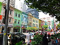 Three-storey colonial shoplots, Jalan Tuanku Abdul Rahman 27 June 2014.JPG