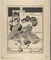 Three Dancing Women in a Restaurant Watched by Cupid MET DP804303.jpg