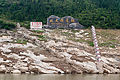 Three Gorges Reservoir flood mark.jpg