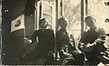 Three students of the Taihoku High School in the dorm room.jpg