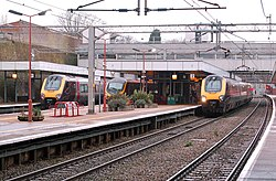 Three trains stopped at Coventry railway station - geograph.org.uk - 1597063.jpg