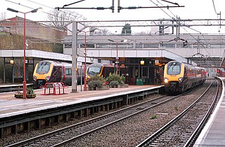 Coventry railway station Station in Coventry, England