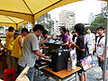 Ticket Window and Service Center in Busy 20140705a.jpg