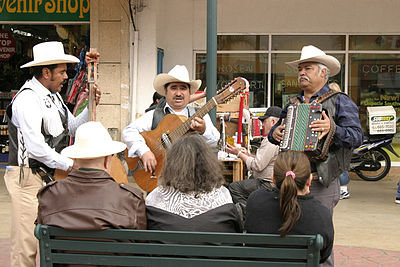A Norteno band, including an accordion Tijuana-performers.jpg