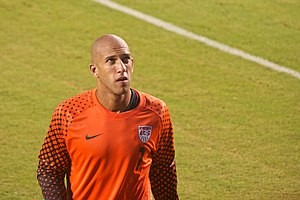 United States men's national soccer team player statistics - Tim Howard has won a record 61 of his 117 international matches