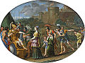 Timoclée et Alexandre, Domenichino (Louvre INV 796) 02.jpg