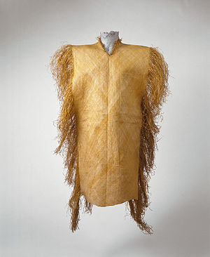 Nafanua - Example of Tiputa (Shirt), similar to the one worn by Nafanua during the wars