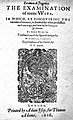 Title page; The examination of mens wits Wellcome L0000048.jpg