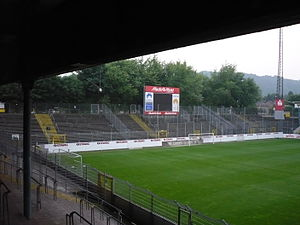 Old Tivoli - Image: Tivoli Aachener Wall