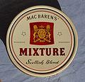 Tobacco, Max Baren's Mixture, Scottish Blend pic1.JPG