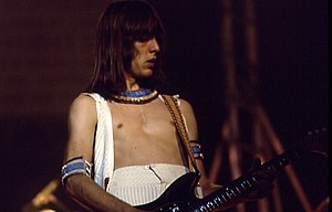Todd Rundgren - Rundgren playing in concert during his early years