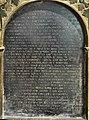 Tomb - beddrod Evan Llwyd (Bodidris), Sir Ddinbych - Denbighshire 1639 10.jpg