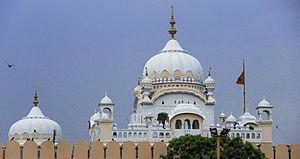 Sikh architecture - Image: Tomb of Ranjit Singh Lahore