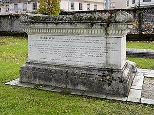 Charles Pictet de Rochemont - Tomb of Charles Pictet de Rochemont, Kings Cemetery, Geneva.