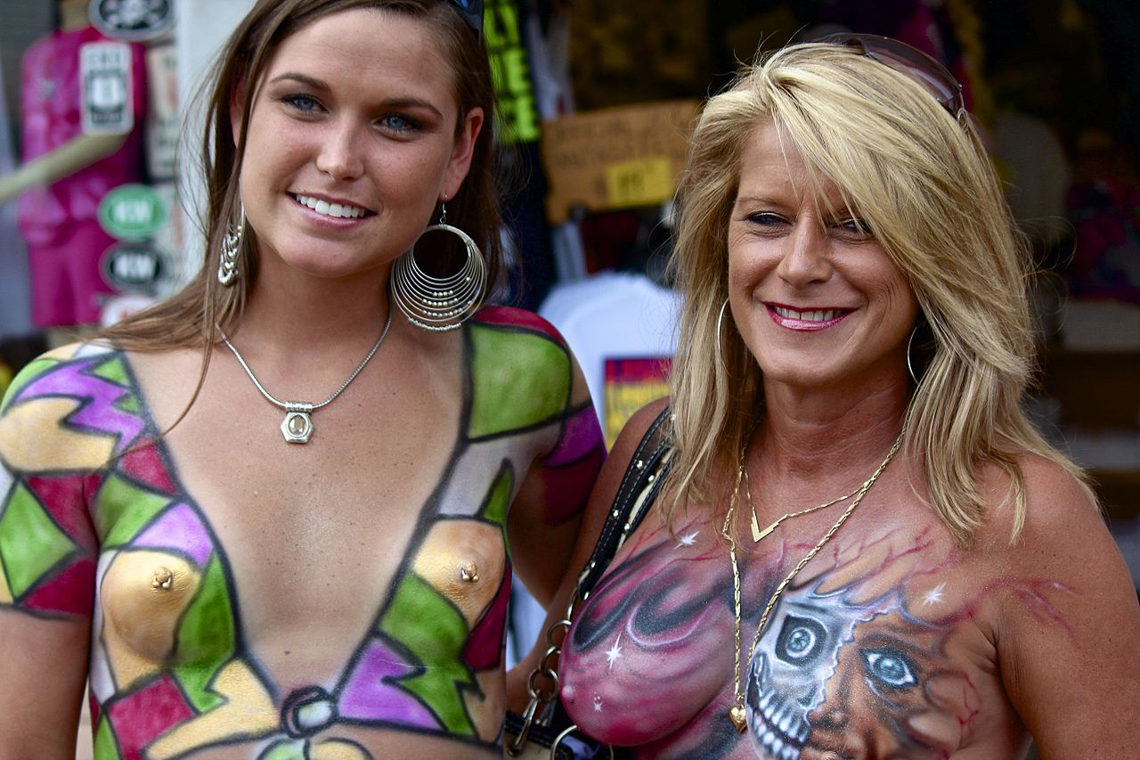 Fantasy fest pussy photos nude movie