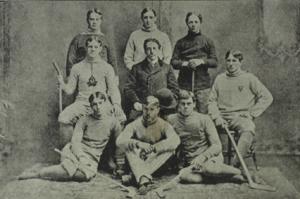Toronto Varsity Blues men's ice hockey - Team picture, 1899.