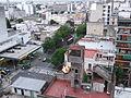 Torre sobre edificio, esquina de Av. Entre Ríos y Humberto 1º.jpg