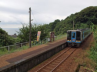 Tosa-Shirahama Station Railway station in Kuroshio, Kōchi Prefecture, Japan