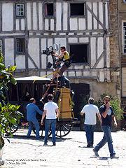 Tournage du film Molière