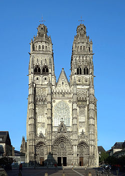 Tours cathedrale face NS ter.jpg