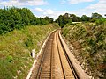 Towards Falmer Tunnel - geograph.org.uk - 521585.jpg