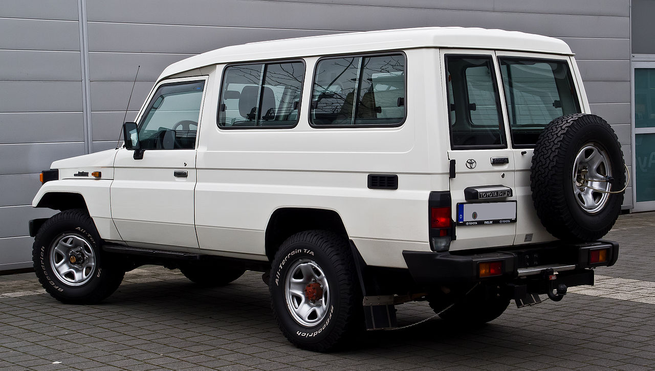 Datei Toyota Land Cruiser J7 Facelift Heckansicht 3