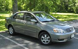 טויוטה קורולה מודל 2003