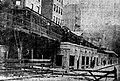Train entering tunnel at Ash Street, November 1908.jpg