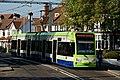 Tram in Addiscombe Road, Croydon (geograph 2657950).jpg