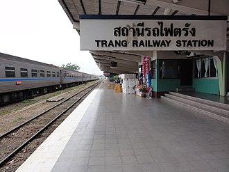 Mueang Trang District - Trang Railway Station