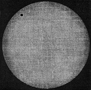 Transit of Venus, 1874 - The transit as seen from Japan by Pierre Janssen