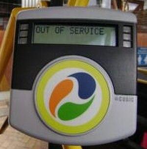 TransLink (South East Queensland) - go card reader