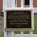 Tripp House NRHP plaque Durham NY.jpg