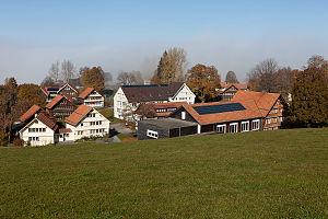 Kinderdorf Pestalozzi - Image: Trogen Pestalozzidorf