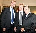 Trond Giske, Bjørn Dæhlie og Viktor Zubkov (5485128079).jpg