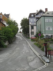 Steepest road