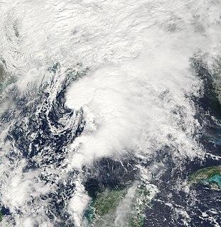 Tropical Storm Matthew (2004) Atlantic tropical storm in 2004