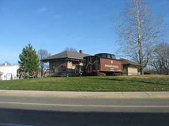 Trotwood, Ohio - Trotwood Railroad Station
