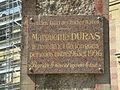 Trouville-sur-Mer Roches Noires plaqueDuras.jpg