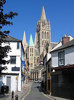 Truro Cathedral Church in Cornwall, United Kingdom