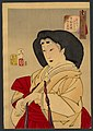 Tsukioka Yoshitoshi - Looking refined - a court lady of the Kyowa era.jpg
