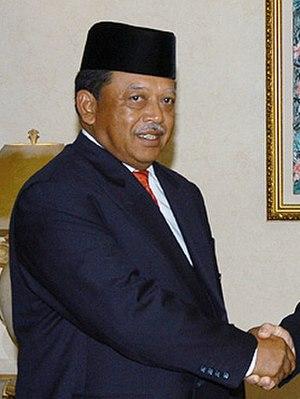 Sirajuddin of Perlis - Syed Sirajuddin Jamalullail, the 7th Raja of Perlis and 12th Yang di-Pertuan Agong.