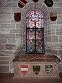 Tumba Gertruds von Hohenberg und ihres Sohns Karl von Habsburg im Basler Münster.jpg