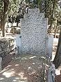 Tumba de Eduardo Benot, cementerio civil de Madrid.jpg