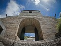 Tung Chung Fort, north gate, view from outside of the fort, Tung Chung, Lantau Island (Hong Kong).jpg