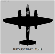 Tupolev Tu-12 top-view silhouette.png