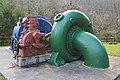 Turbina Escher Wyss - Central hidroelectrica de Tambre - 002.jpg