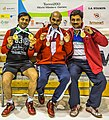 Turin, Italy…2013 WMG medal presentations…the proud Panvalkar family show off their medals… Sachin, Mukund and Parag (10831036426).jpg
